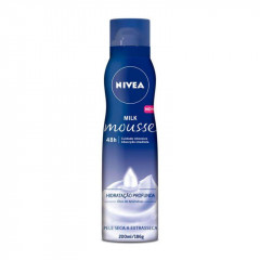 BODY MOUSSE MILK NIVEA 200ML