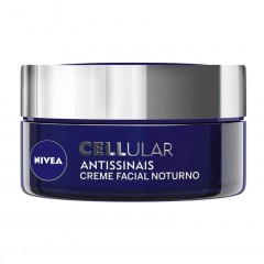 CREME FACIAL NOTURNO ANTISSINAIS CELLULAR NIVEA 52G