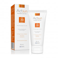PROTETOR SOLAR FACIAL FPS 30 ACTSUN 60ML