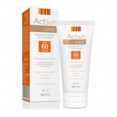 PROTETOR SOLAR FACIAL FPS 60 ACTSUN COLOR 60ML