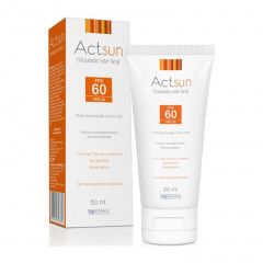 PROTETOR SOLAR FACIAL FPS 60 ACTSUN 60ML