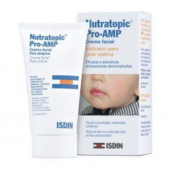 CREME FACIAL NUTRATOPIC PRO-AMP 50ML