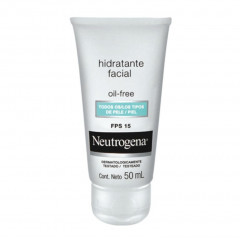 GEL CREME HIDRATANTE FACIAL OIL-FREE FPS 15 NEUTROGENA 50ML