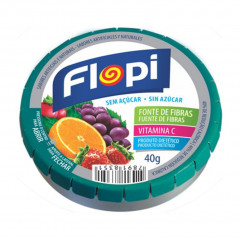 BALAS DIET SABOR FRUIT MIX FLOPI 40G