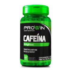 CAFEINA ANHYDROUS 60 CAPSULAS PROWIN