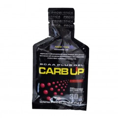 GEL ENERGETICO CARB UP MORANGO PROBIOTICA 30G