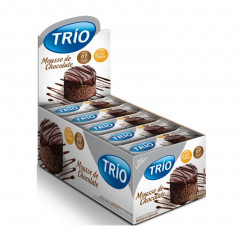 BARRA DE CEREAIS MOUSSE DE CHOCOLATE SOBREMESA LIGHT TRIO 20G