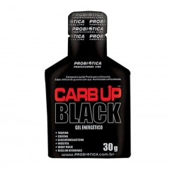 GEL ENERGETICO CARB UP BLACK GUARANA COM AÇAI PROBIOTICA 30G