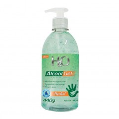 ALCOOL GEL HERBAL H2O EVOLUTION 440G