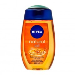 SABONETE LIQUIDO EM OLEO NATURAL OIL NIVEA 200ML