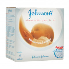 ABSORVENTE PARA SEIOS JOHNSON'S 12U