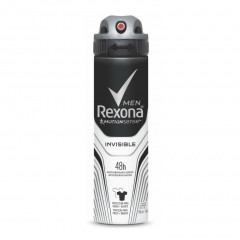 DESODORANTE AEROSSOL INVISIBLE REXONA MEN 150ML