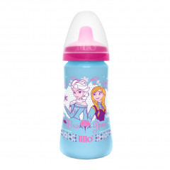 COPO COLORS DISNEY FROZEN ELSA E ANNA LILLO 300ML