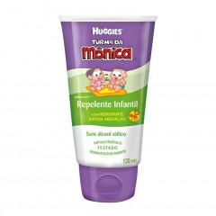 REPELENTE INFANTIL TURMA DA MONICA HUGGIES 120ML