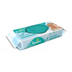 TOALHAS UMEDECIDAS FRESH CLEAN PAMPERS 48U