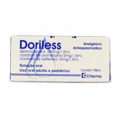DORILESS SOLUÇAO ORAL GOTAS 15ML