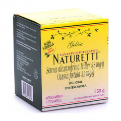 NATURETTI GELEIA ORAL 260G