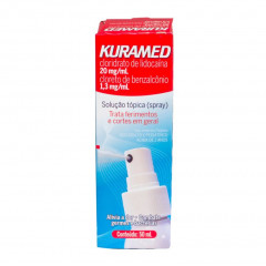 KURAMED  SOLUÇAO TOPICA SPRAY 50ML