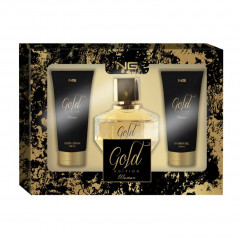 KIT GOLD EDITION PERFUME + LOÇAO + SHOWERGEL NG PARFUMS