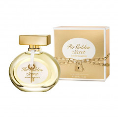 PERFUME FEMININO HER GOLDEN SECRET ANTONIO BANDERAS EDT 50ML