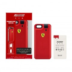 KIT PERFUME MASCULINO RED SCUDERIA FERRARI EDT IPHONE CASE 25ML + REFIL 25ML