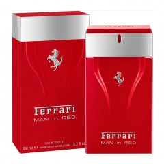 PERFUME MASCULINO MAN IN RED FERRARI EDT 100ML