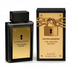 PERFUME MASCULINO THE GOLDEN SECRET ANTONIO BANDERAS EDT 100ML
