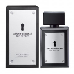 PERFUME MASCULINO THE SECRET ANTONIO BANDERAS EDT 200ML
