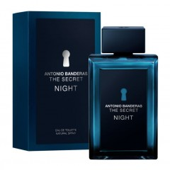 PERFUME MASCULINO THE SECRET NIGHT ANTONIO BANDERAS 100ML