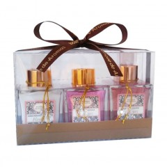 KIT FLOWERS HIDRATANTE 95ML + DIFUSOR DE AROMAS 95ML + SABONETE 95ML BOUTIQUE DE AROMAS