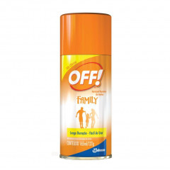 REPELENTE AEROSSOL FAMILY OFF 165ML
