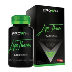 LIPO THERM BLACK EDITION PROWIN 60 CAPSULAS