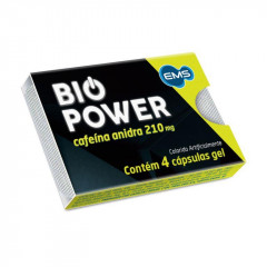 BIO POWER 4CAPSULAS GEL