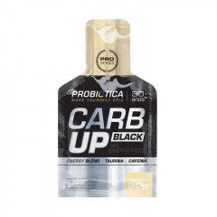 GEL ENERGETICO CARB UP BLACK BAUNILHA PROBIOTICA 30G