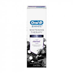 CREME DENTAL WHITE THERAPY PURIFICATION CHARCOAL 102G ORAL B