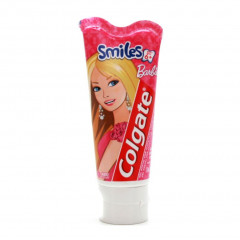 GEL DENTAL INFANTIL SMILES BARBIE 6+ ANOS COLGATE 100G