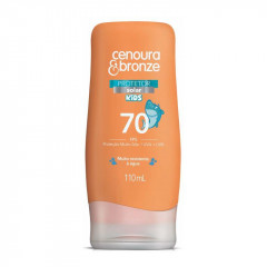 PROTETOR SOLAR FPS70 KIDS CENOURA E BRONZE 110ML