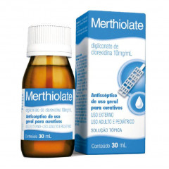 MERTHIOLATE SOLUÇAO TOPICA 30ML