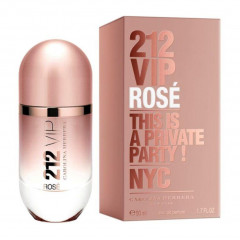 PERFUME FEMININO 212 VIP ROSE CAROLINA HERRERA EDP 50ML