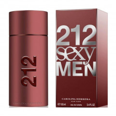 PERFUME MASCULINO 212 SEXY MEN CAROLINA HERRERA EDT 100ML
