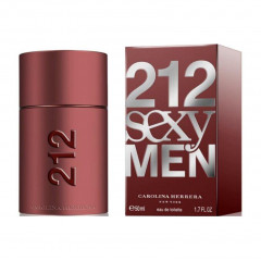 PERFUME MASCULINO 212 SEXY MEN CAROLINA HERRERA EDT 50ML
