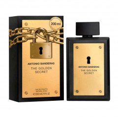 PERFUME MASCULINO THE GOLDEN SECRET ANTONIO BANDERAS EDT 200ML