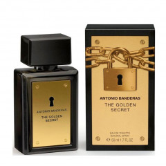 PERFUME MASCULINO THE GOLDEN SECRET ANTONIO BANDERAS EDT 50ML